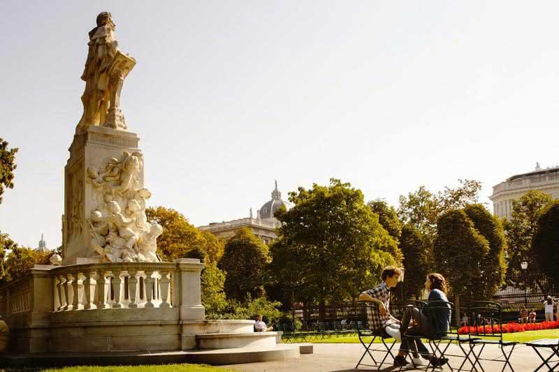 Burggarten en Viena
