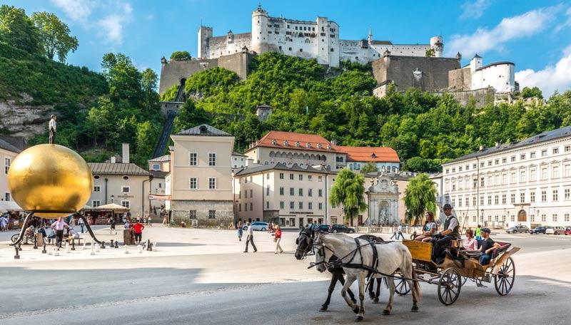 Centro histórico de la ciudad de Salzburgo