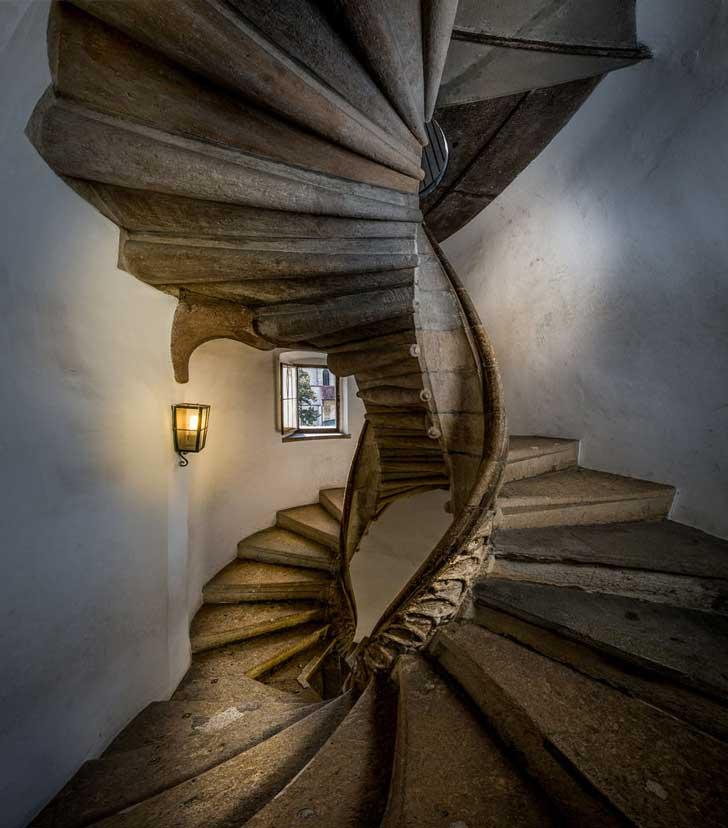 Escalera de Caracol o Doppelwendeltreppe