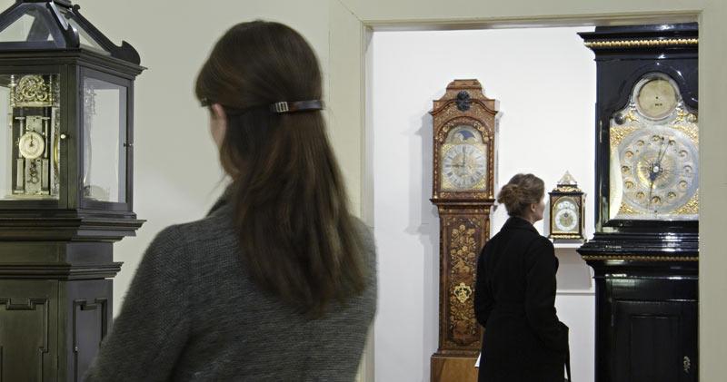 Interior Museo del Reloj Viena