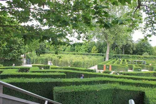 laberinto del parque de Schönbrunn