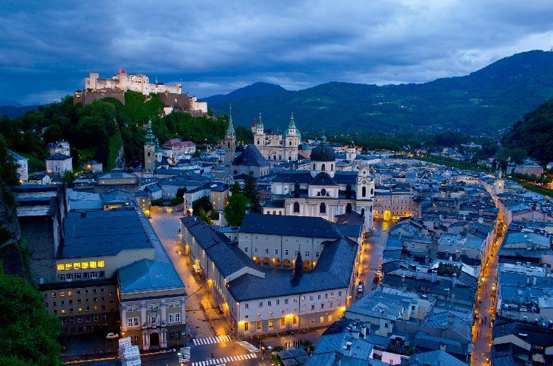 Las mejores zonas de Salzburgo