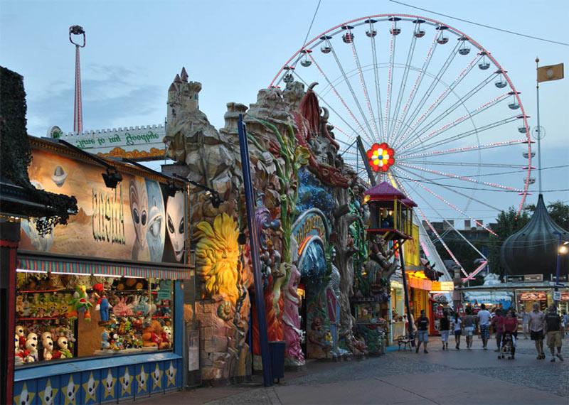 Prater el parque de atracciones más antiguo del mundo