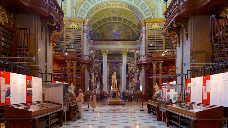 Sala Imperial de la Biblioteca Nacional Austriaca