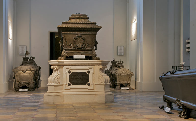 Sarcófago en la Cripta Imperial de Viena