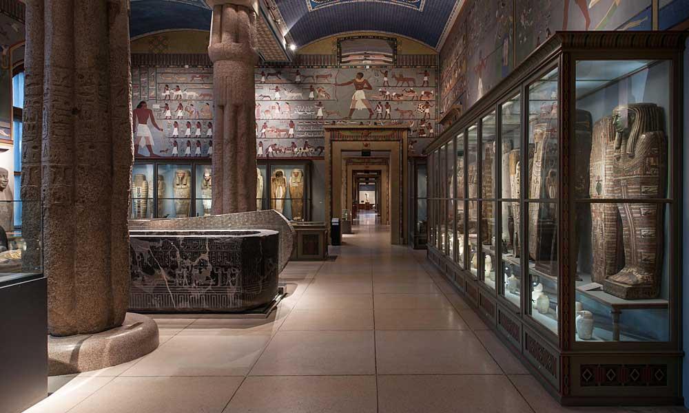 Colección de arte egipcio