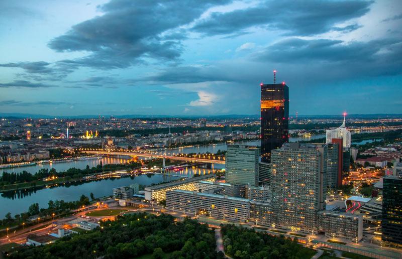 Vistas desde la Torre del Danubio